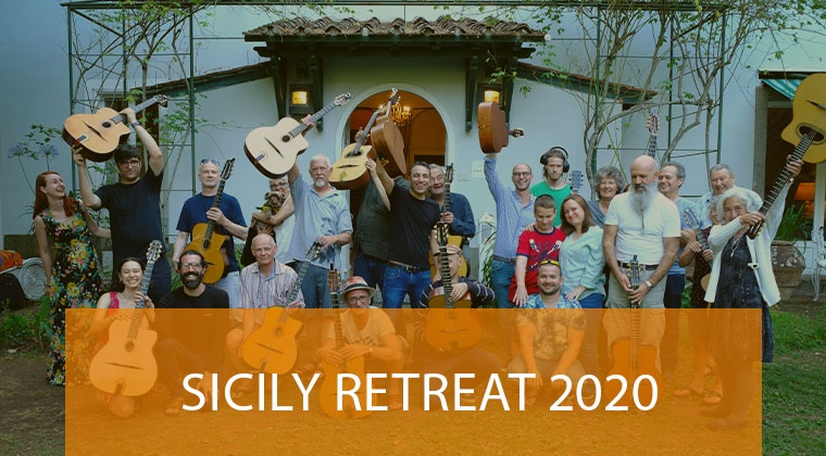 Sicily Gypsy And Jazz retreat, January 2020