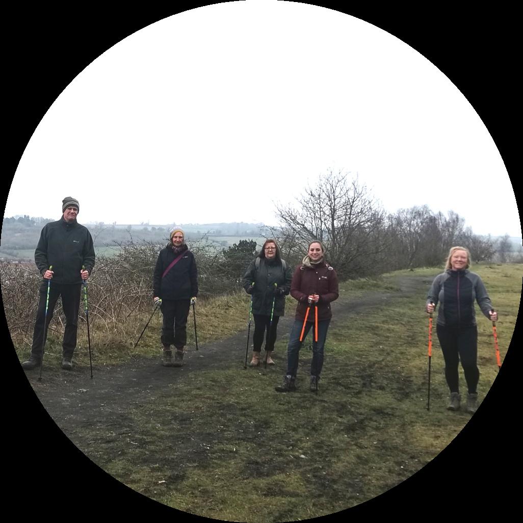 Ecowild Support Group Nordic Walk