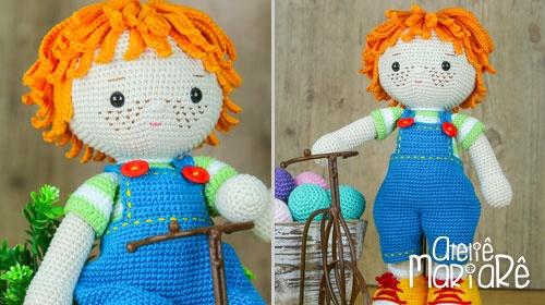 Amigurumi Knitting 🌀 Amigurumi Doll Duda Course and Its Roupins ... | 280x500