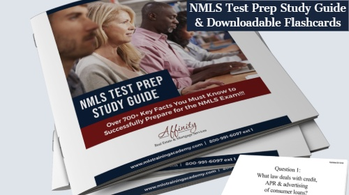NMLS ONLINE FLASHCARDS AND ADVANCE STUDY MANUAL ONLY