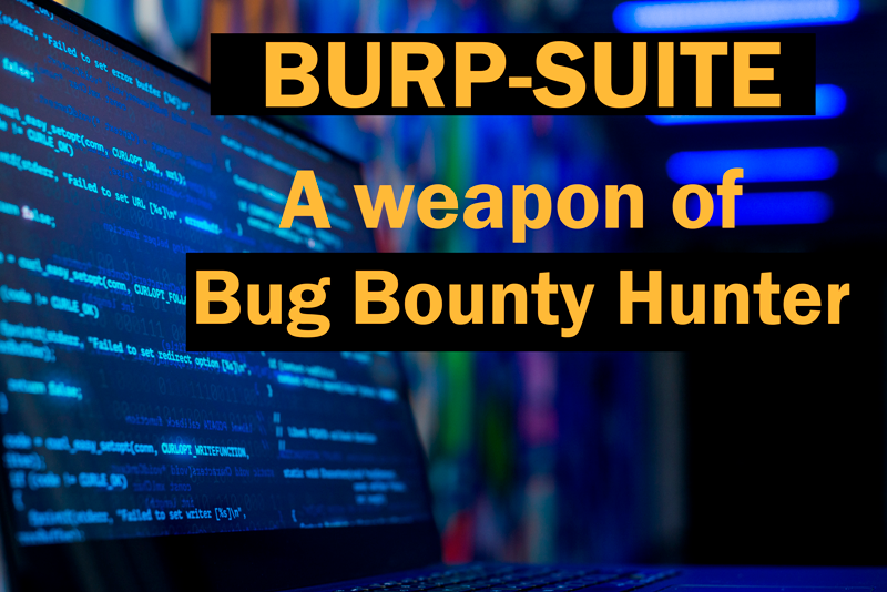 Burp Suite: A weapon for bug bounty hunter