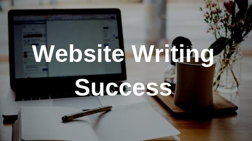 Website Writing Success