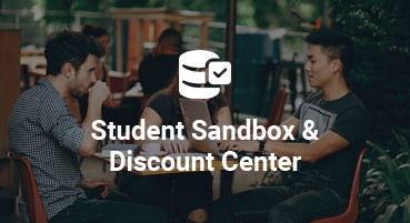 Student Sandbox and Discount Center