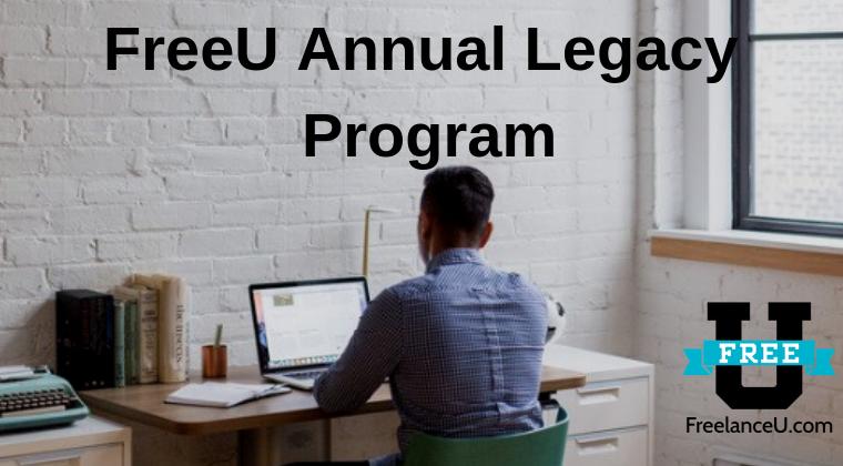 Freelance University Annual Legacy Plan