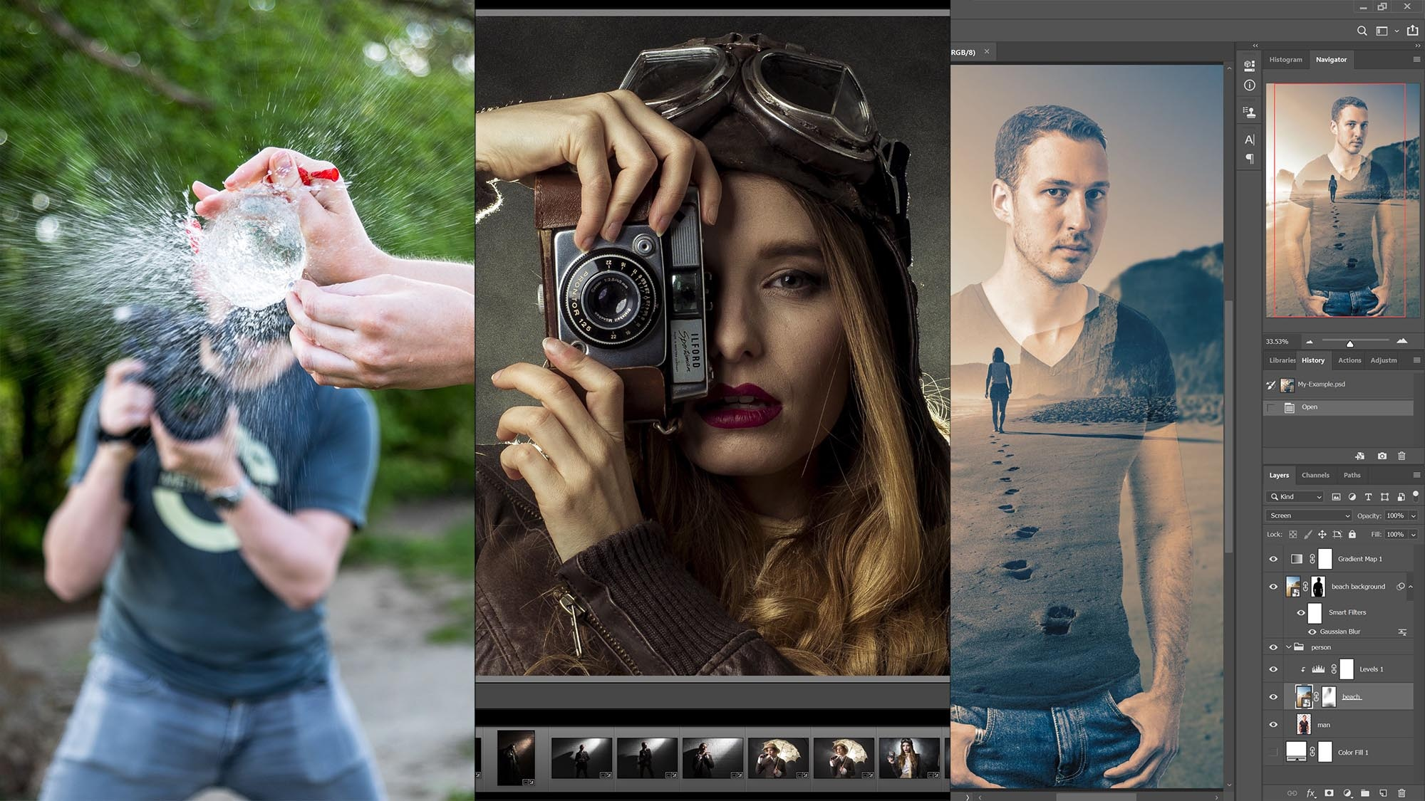 Photography, Lightroom and Photoshop Bundle
