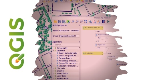 Automating GIS processes with graphical modeler in QGIS