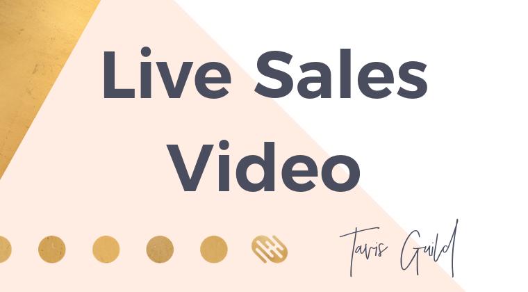 Live Sales Session