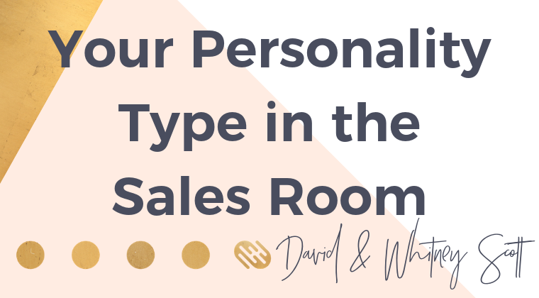 Your Personality Type in the Sales Room