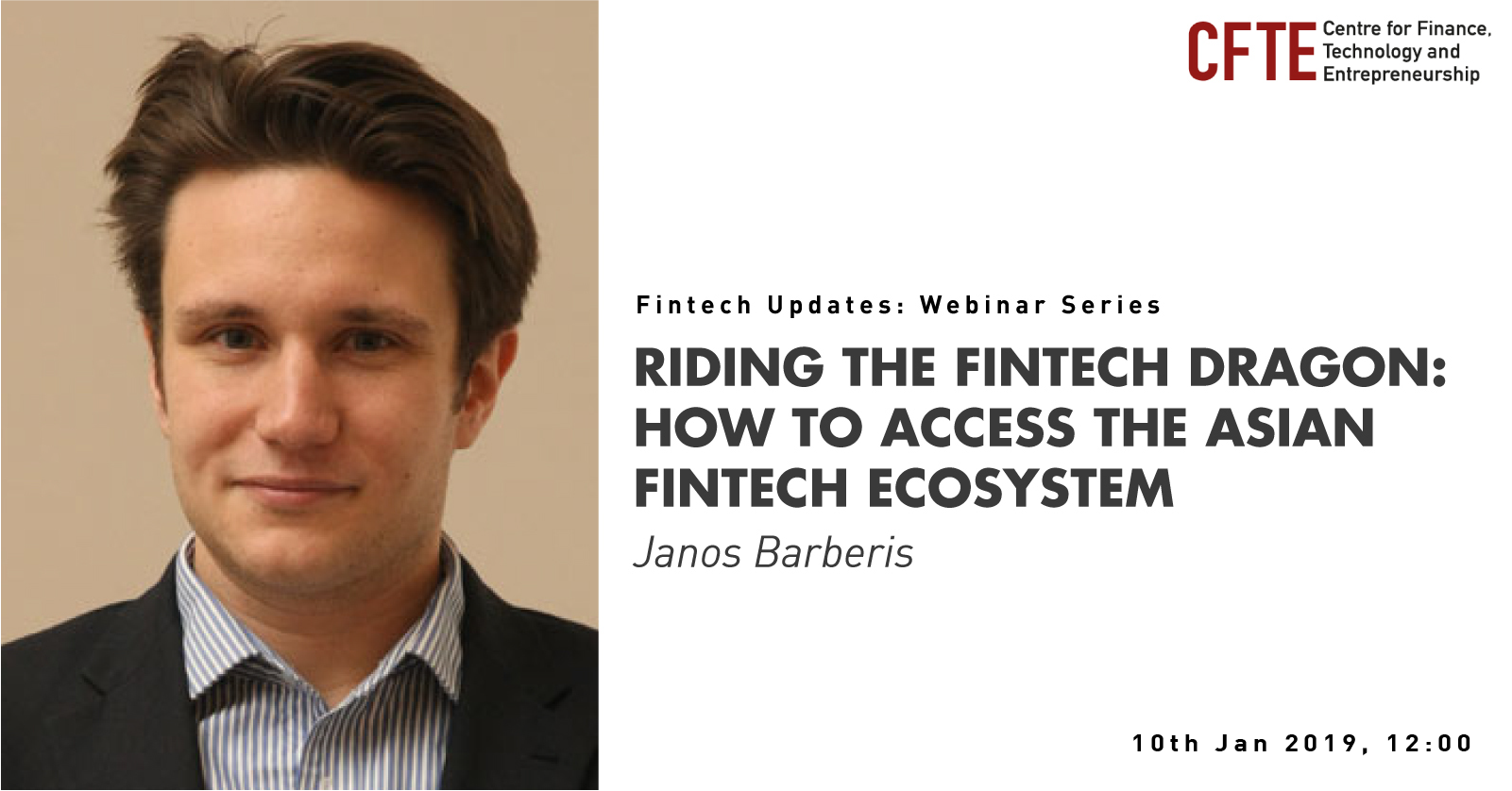 Riding the Fintech Dragon: How to Access the Asian Fintech Ecosystem with Janos Barberis