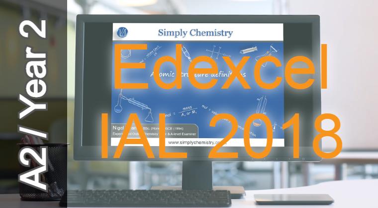 Edexcel IAL 2018 A2 Topic 16 Redox video course WCH15 NoQ