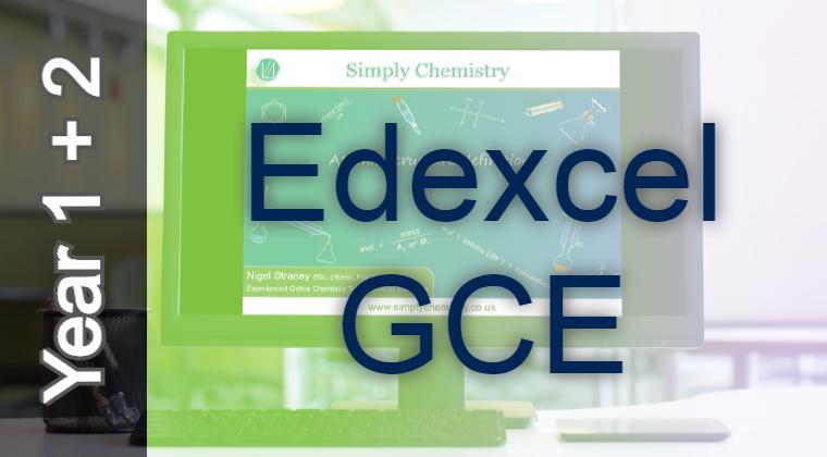 Edexcel GCE A2 / A level 9CH0 Course