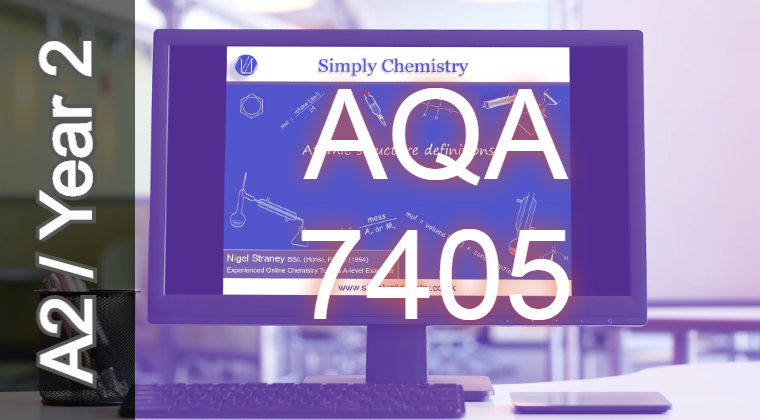 AQA A2 Topic 3.1.8 Thermodynamics Chemistry video tuition course (7405) NoQ