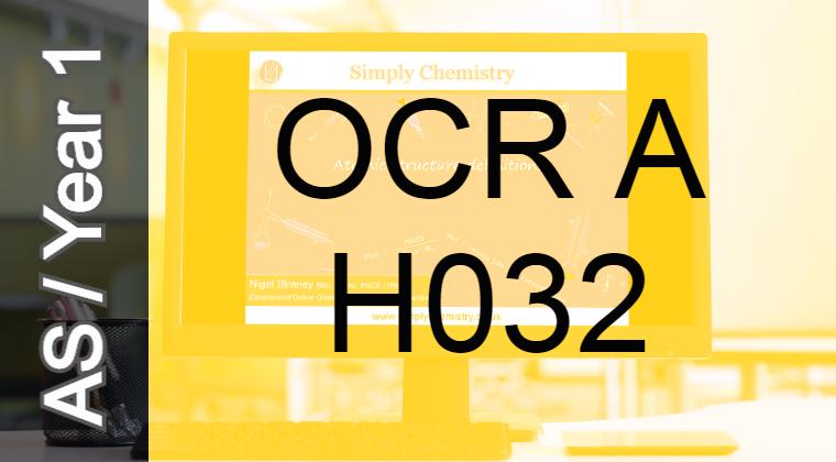 OCR A H032 AS course