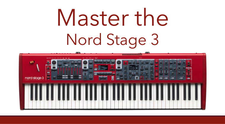Nord Stage 3 Training course and tutorial series