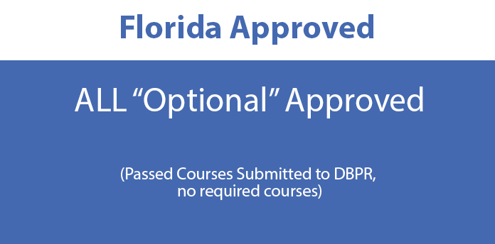 Florida Approved Courses- All Optional Courses