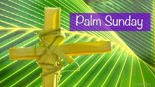 Image Of Palm Sunday